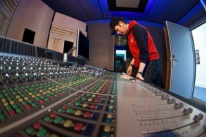 Inspecting a freshly built Avid ICON D-Control ES console