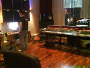 Installing the Neve Genesys at SAE Oxford