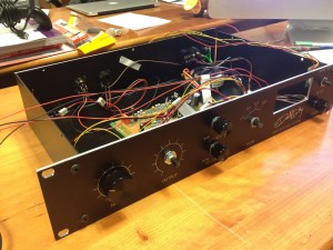DIY 1176 Case with PCB and wired pots