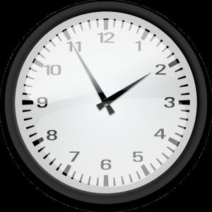 Clock. Public domain CC.