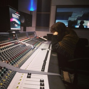 Anouk at the Neve Genesys